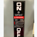 Safety Switch label printed at Great Lakes Label for General Electric