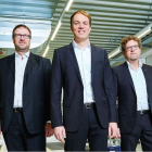 IST Metz management, L-R: Holger Kühn, Christian-Marius Metz and Dr Robert Sänger