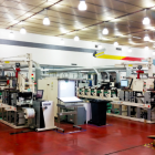 The two 8-color Nilpeter FB3300S flexo screen presses at Gaez