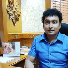 Jaichandra, director of Veepee Graphic Solutions, at his office in Bengaluru