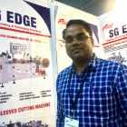 Santosh Kumar, CEO at S G Edge talks about the new flexo press