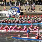 A B Graphic International's team is taking part in the annual York Rotary Dragon Boat Challenge to raise funds for Bridlington charity