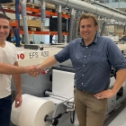 Albdesign has purchased the first MPS EFS 430 high-quality and highly automated 6-color flexo press to expand its capabilities in label and flexible packaging printing