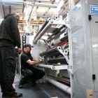 Baker Labels install two Ashe slitters