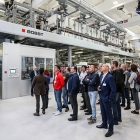 Bobst opens coating center in Italy
