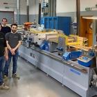 L-R: Carlucci team: F. Pezzano, COO; Staino Giocondi, CEO; A. Giardina (Operations); M. Chiacchierini (CFO) and Alessandro Pagliarini (Operations).