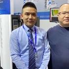 Hu Yongjie, general manager of Wanjie, and Xie Jinquan, general manager of Dianhui