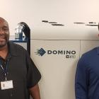 Glen Hayden and Ernie Wilson, new technical support analysts at Domino