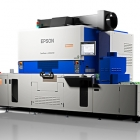The new Epson SurePress L-6534VW UV digital label press has been made available and is now on display at the Epson Demo Center in Carson, CA, USA.