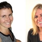 L-R: Amaia Cowan, Futamura business development manager; Clare McKeown, UK & Eire sales manager at Futamura
