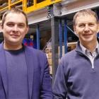 L-R - Janis Zirnis, business development manager, and Guntis Kronbergs, managing director at Starlett HQ
