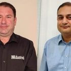 (L-R) John Bryson, sales director at INKdustrial Group and Neeraj Thappa, vice president, Monotech Systems