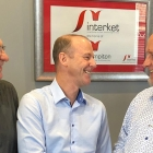 L-R: Vince Hughes, production and technical manager at Interket; Nick Tyrer, sales director at MPS Systems and Tim Pattison, sales and operations director at Interket