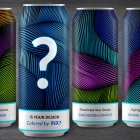INX International Ink is calling brand owners, marketers, breweries, can makers, and design agencies to submit entries for the second annual Colored by INX Can Design Contest