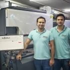 Denver and Janus Annunciation with the upgraded HP Indigo 6900 label printing press