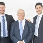 L-R: Jack Malki, Albert Malki and Daniel Malki