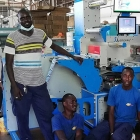 BLG International has invested in a custom-built Lemorau MICR3 high-speed finishing machine for its production plant in Senegal