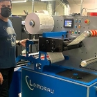 Autajon has invested in a second Lemorau CRL 330 in-line slitter-rewinder for its production facility in Bordeaux to further expand its production capacity