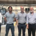 L-R: Steve Leibin, president of Matik with Nicola Lombardi, Massimo Lombardi, Claudio Lombardi, and Lorenzo Lombardi