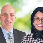 (L-R) Jon Hunter, Michelman's new director, Global Environmental Health and Safety and Sonia Razzaque, the new vice president of Regulatory Compliance and Product Stewardship