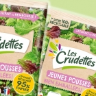 French Group LSDH has opted for Mondi's first recyclable functional barrier paper bag for its Les Crudettes salad range