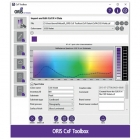 Screen Graphic Solutions and CGS Oris have developed CxF spot color matching technology that predicts halftones and automatically generates complete CxF data