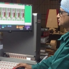 Rajesh Nema, Pragati's executive director, assigns important 'areas of interest' with the inline Guardian PQV 100% Print Inspection by Baldwin