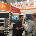 Reborn unveiled its latest digital die-cutting machine at Labelexpo Europe 2019