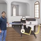 Himanshu Kapur, director of JK Fine Prints, with the new ABG RTS sheeter