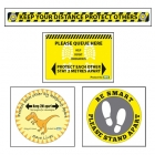 Sato helps to adapts its production to produce safe practices labels and help to adhere to social distancing rules
