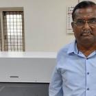 Shyam Sundar, partner at NS Digital Flexo, with his new Flexcel NX System
