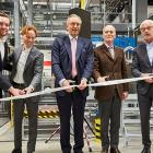 L-R: : Georg Keller, Dr Jan Breitkopf (president EMEA), Herbert Forker (CEO), Alfred Keller (chairman of the Supervisory Board) and Franz Huhn (Mayor of Siegburg).