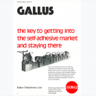 First Gallus advert in Labels & Labeling