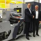 Durst and Omet partnered for the XJet hybrid press
