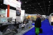 Futura was unveiled at Gulf Print & Pack 2017, and shown on a Saturn Omnia multiuse finishing system on the Printech Middle East stand