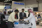 Heidelberg exhibited at Gulf Print & Pack 2015, and returns in 2017