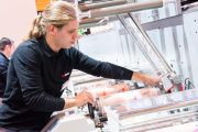 Bobst will run live demos of the latest M1 press at the show