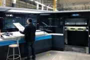 K-1's Landa S10 press, one of the first Landa presses in the US