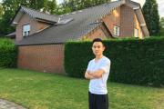 Jim Ji, 36-year-old owner of Guangzhou Guangcai Label