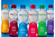 Redesign amps up energy water brand