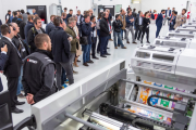 The innovations were unveiled at Bobst's facility in Florence