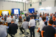 More than 200 attendees gathered for the new plant opening in São Paulo, Brazil