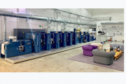 Wanjie Europe has a dedicated demonstration area to showcase semi-rotary offset printing