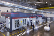 Uteco Crystal press at the Nocera plant