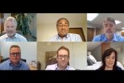 The global converter panel, moderated by TLMI president Linnea Keen, featured Charlie MacLean, ASL Print FX (Canada); Mark Glendenning, Inland Packaging (USA); Isidore Leiser, Stratus Packaging (France); Sachen Gudka, Skanem Interlabels (Africa); an