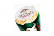 Albacher uses new foil lid labels from MCC