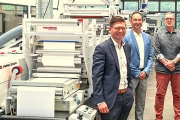 ATB-Systemetiketten, part of Barthel Group, has installed two Mark Andy Evolution Series E5 narrow web flexo presses fitted with LeoLED technology developed by UK-based GEW