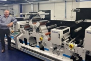 Paramount Labels and Tags has invested in Bar Graphic Machinery's (BGM) Elite Digiflex digital converting line