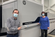 CCL Industries has installed the world's first HP Indigo 35K digital press at its CCL Label Healthcare facility in Montreal, Canada, marking the milestone installation of the company's 100th HP Indigo press.
