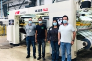 Insight Pack International Corporation has installed a Comexi SL2 laminator and a Comexi S2 DT slitter